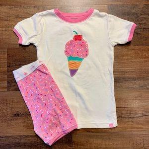 Gap 5T 2pc Ice Cream Girl Pajama Set